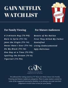 Netflix Watch List