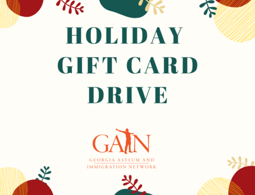 GAIN's Holiday Gift Card Drive